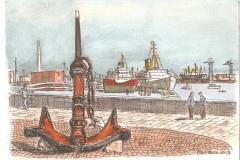 Hafenmotiv 2 | 16x24 cm | 20 Euro